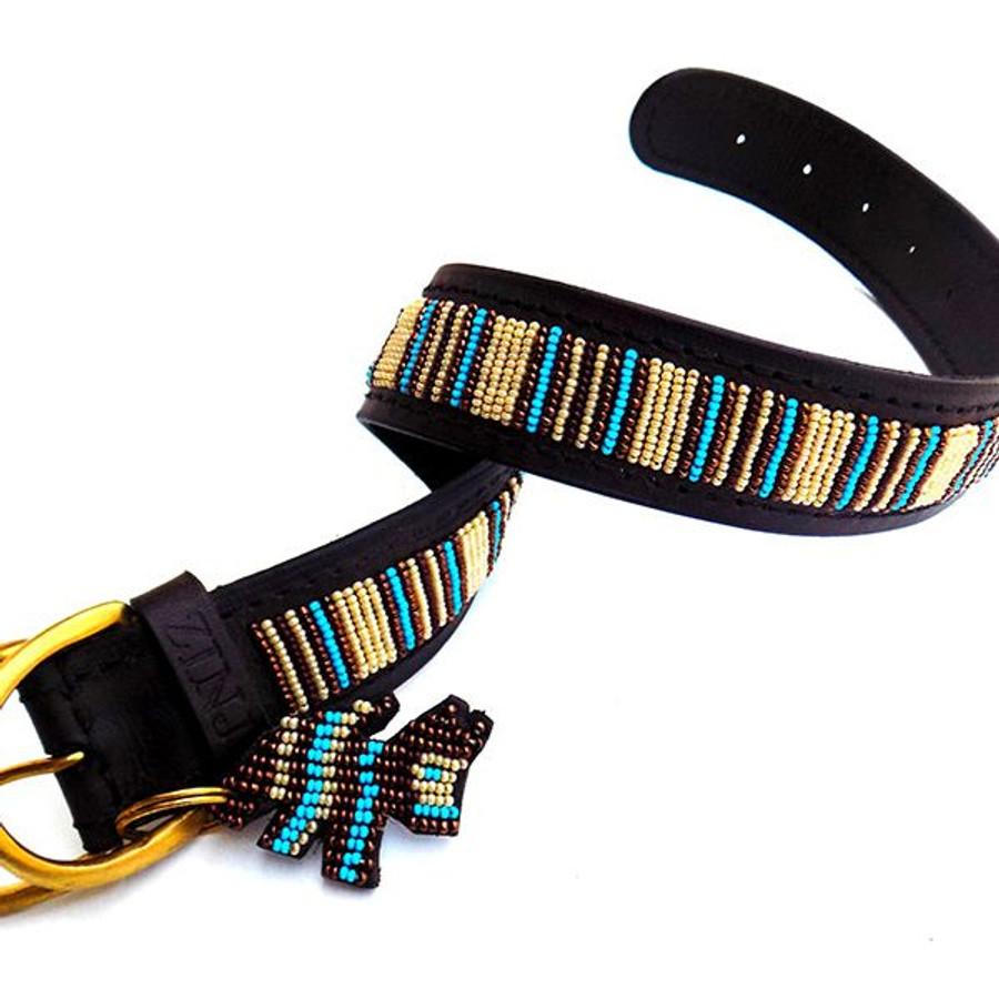 Blue Nile Dog Collar