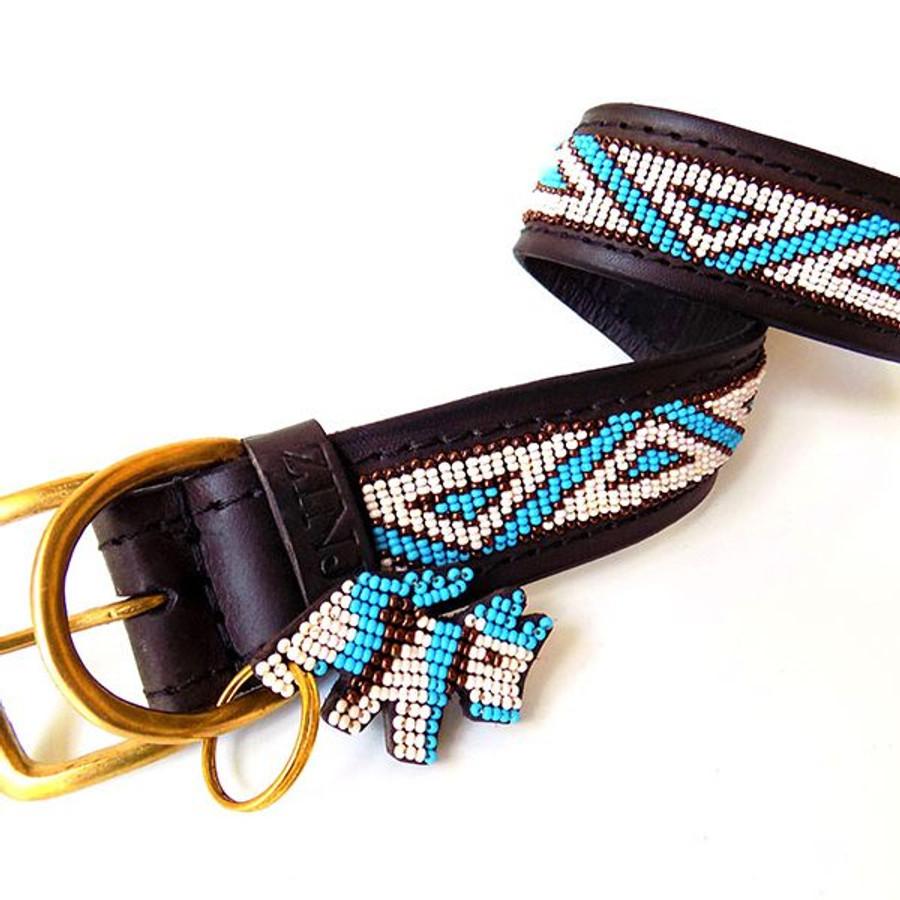 Kabaka Sky blue Dog Collar