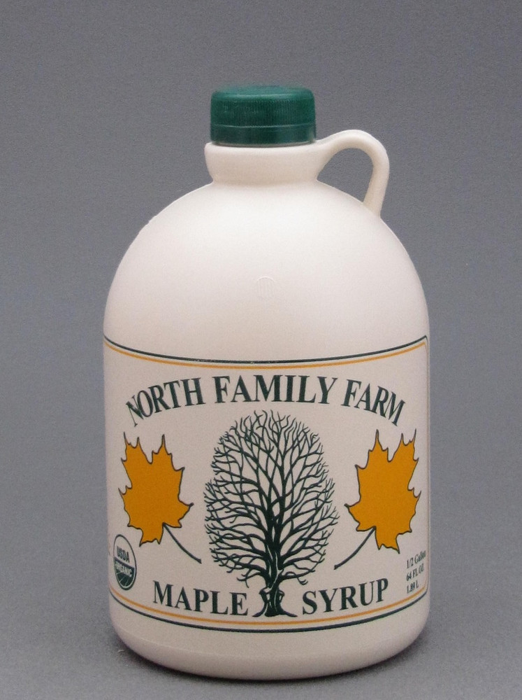 Maple Syrup Half Gallon Jug