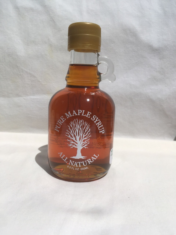 Maple Syrup 250 Ml Glass Jug