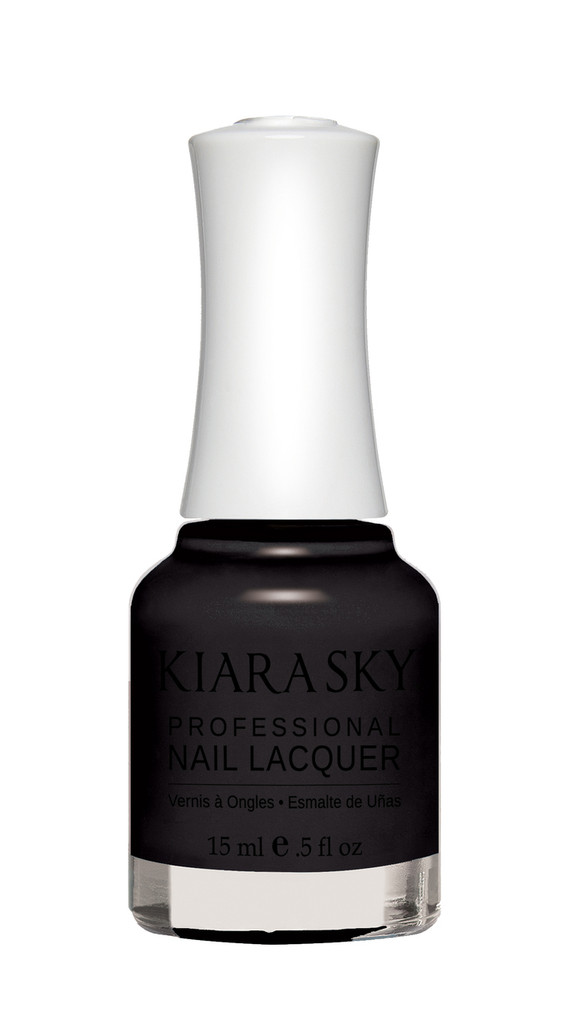 NAIL LACQUER - N435 BLACK TO BLACK