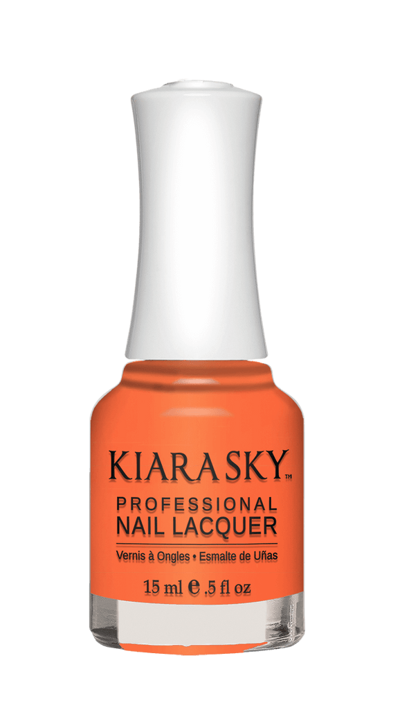 NAIL LACQUER - N542 TWIZZLY TANGERINE