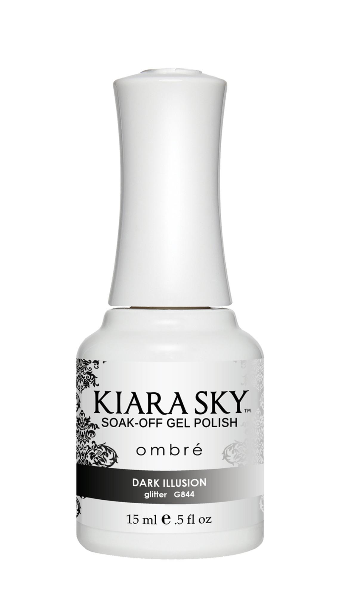 Mood Changing Nails | Black Gel Nail Polish | Kiara Sky