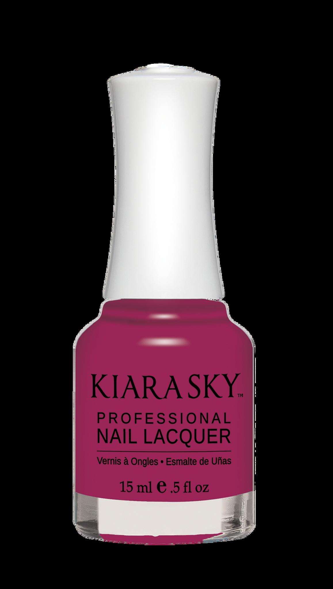 NAIL LACQUER - N575 BLOW A KISS - Kiara Sky Professional Nails