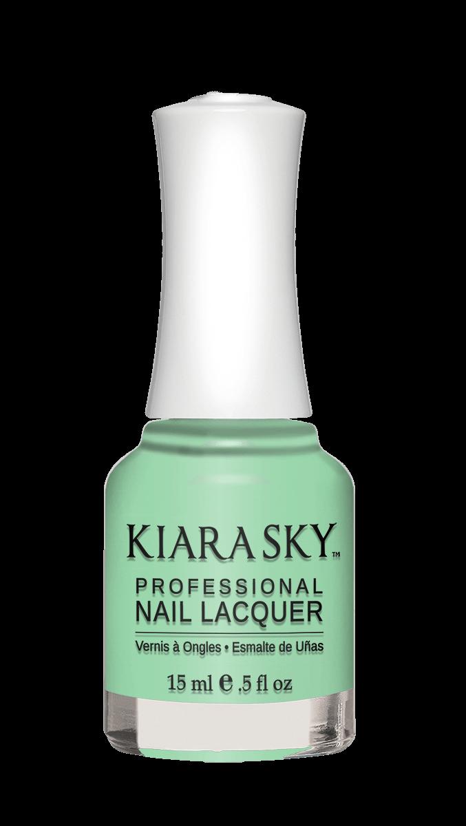 Mint Nail Polish | Mint Green Nail Varnish | Kiara Sky
