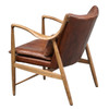 Anderson Wood Frame Arm Chair - P006201