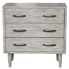 White Wash Mid Century Drawer Chest - DS-D146-005