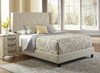 All-N-One Fully Upholstered Shelter Bed Queen- DS-1930-290