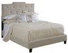 All-N-One Fully Upholstered High Back Bed Queen - DS-1931-290