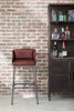 Brandon Industrial Leather Barstool- DS-P006044