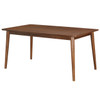 Bowery Mid-Century Modern Rectangular Dining Table