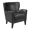 Seaton Arm Chair - Charcoal