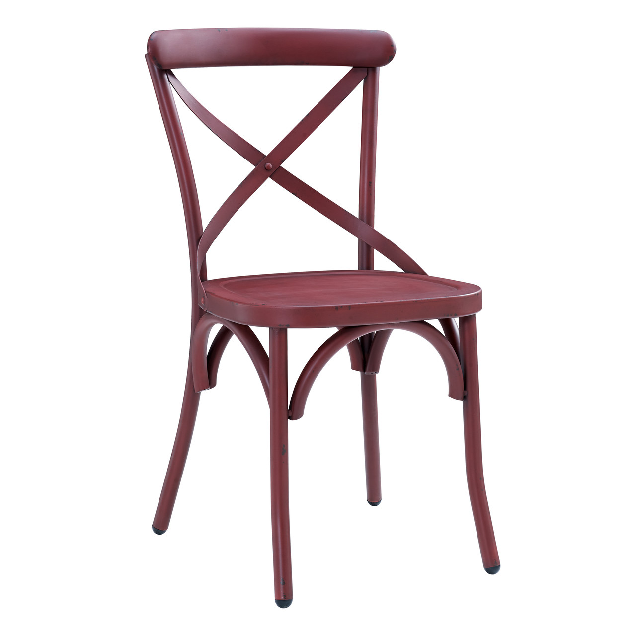 Attirant Bowery Dining Chair   Red