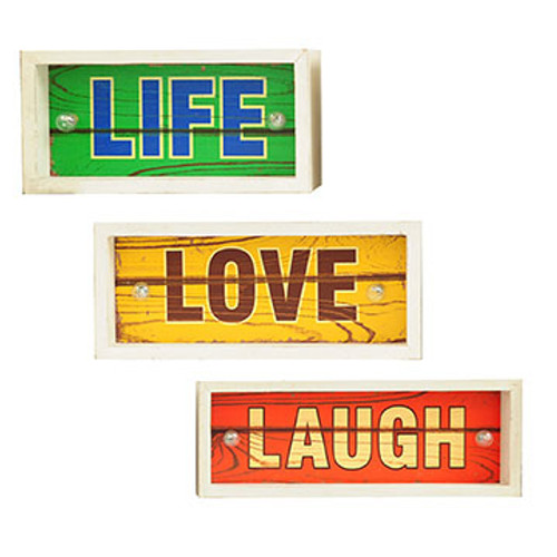Life, Love, Laugh Signs