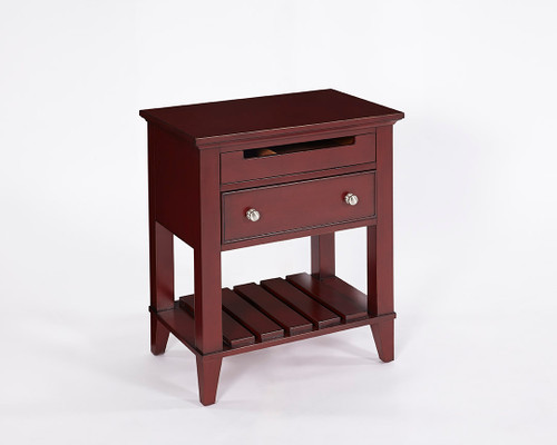 2 Drawer Nightstand Scarlet