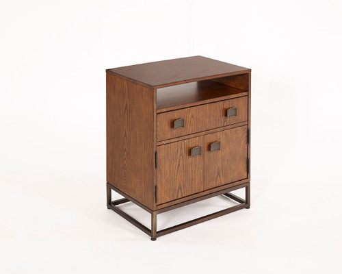 2 Door/2 Drawer Nightstand Sienna
