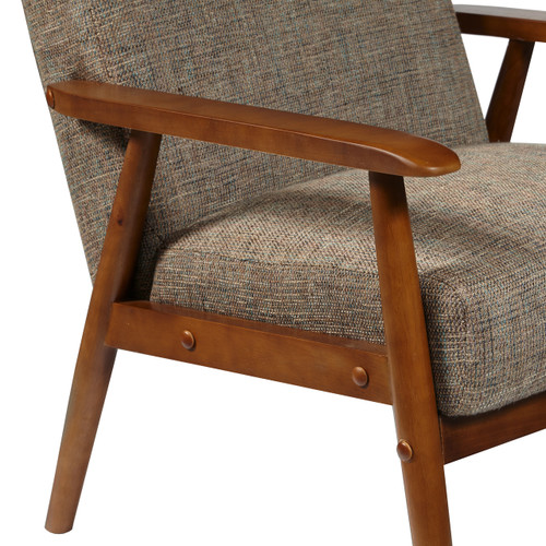 ... Wood Frame Accent Chair In Calypso Waterfall   DS D030003 487 ...