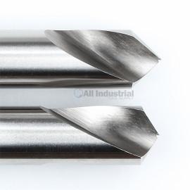 "YG1 0161L / 2161L | NC Spotting Drill 8% Cobalt HSS 1/4"" 90 & 120 Degree 2pc Set CNC Machine"