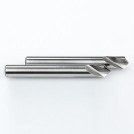 "YG1 0241L / 2241L | NC Spotting Drill 8% Cobalt HSS 3/8"" 90 & 120 Degree 2pc Set CNC Machine"