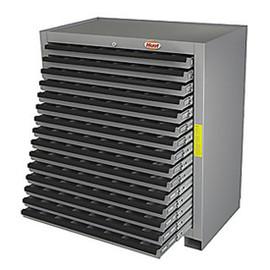 Huot 13525   Super Cutting Tool Storage Cabinet, 15 Drawers, BB Slides