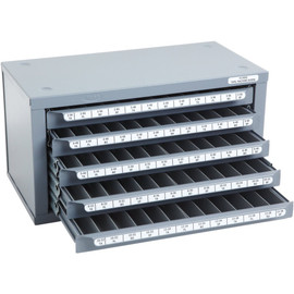 Huot 13550   2-56 to 12-28 Machine Screw Size Tap Dispenser Organizer Cabinet