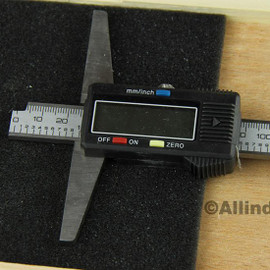 """All Industrial 51156   0-20"""" Electronic Depth Gage 4"""" Base 0.0005"""" Resolution Digital Gage Spc Output"""