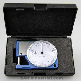 "All Industrial 52070 | Pocket Thickness Gage 0-0.050"" Range 0.001"" Graduation Dial Indicator Gauge"