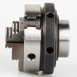"All Industrial 47704 | Self-Centering Lathe Chuck Plain Back 2"" 3-Jaw 3/4""-16 Hardened"