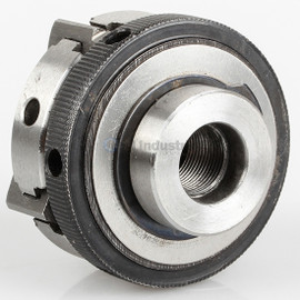 "All Industrial 47754 | Self-Centering Lathe Chuck Plain Back 2-1/2"" 4-Jaw M12-1 Hardened"