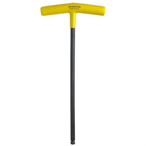 """Bondhus 13109   5/32"""" Cushioned Grip T-Handle Hex Tool"""