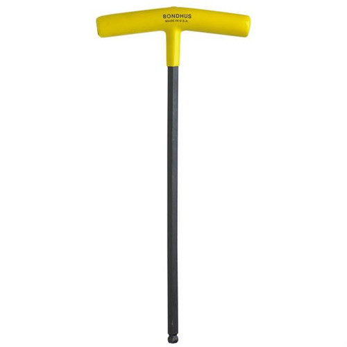 "Bondhus 13112 | 1/4"" Cushioned Grip T-Handle Hex Tool"