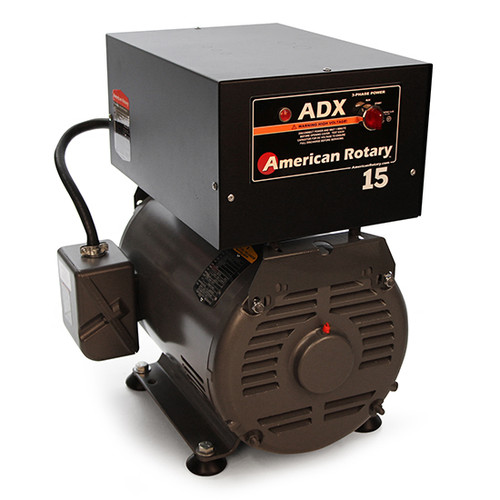 American Rotary ADX15FM | 15HP 240V ADX Series Floor Mount Rotary Phase Converter