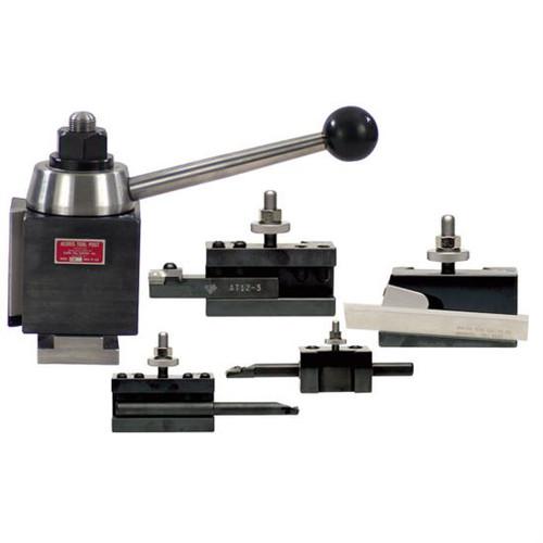Aloris CXA-3-BS   5pc. Starter Set Tool Post & Holders