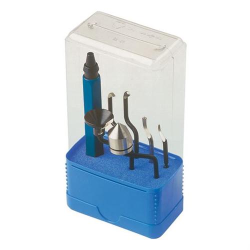 Noga SP1007 | 4-In-1 Deburring Set Deburr, Clean, Finish & Countersink Israel