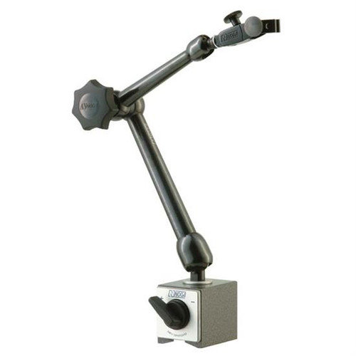 "Noga MG71003 | Magnetic Base with Universal Swivel Clamp 176lb Holding Power 10.9"" Arm"