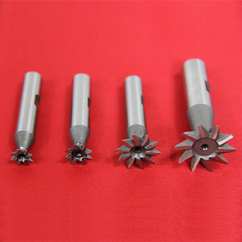 "All Industrial 19520 | 4pc 45 Degree Dovetail Cutter Set 3/8 1/2 3/4 1"" High Speed Steel HSS Milling"
