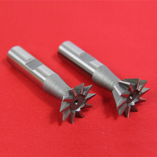 "All Industrial 19526 | 2pc 1/2"" X 45 Degree & 1/2"" X 60 Degree Dovetail Cutter Set High Speed Steel HSS Milling"