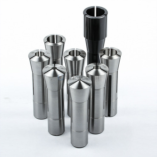"All Industrial 41049 | 8pc R8 Collet Set Fractional 1/8"" to 1"" High Precision for Bridgeport 8pc"