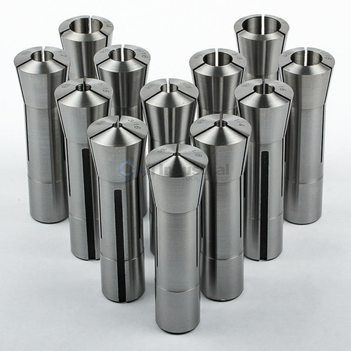 "All Industrial 41051 | 12pc R8 Collet Set 1/8"" to 7/8"" Fractional High Precision for Bridgeport"