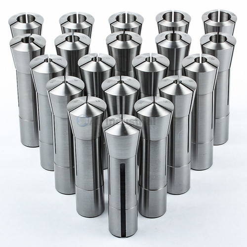 All Industrial 41057 | 20pc Metric R8 Collet Set 1mm to 20mm High Precison for Bridgeport 20pc
