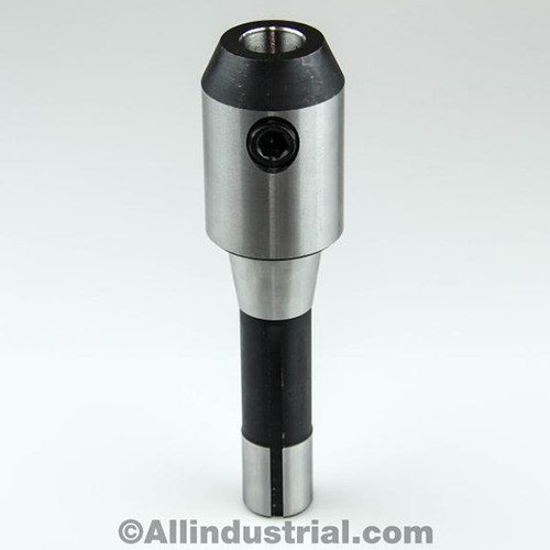 "All Industrial 44018 | 3/4"" R8 End Mill Holder Adapter for Bridgeport Milling Tool Inch Arbor"