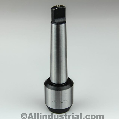 "All Industrial 44534 | 5/16"" MT2 Morse Taper End Mill Tang Tool Holder Adapter End 2MT"
