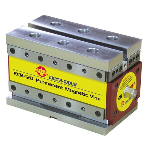 Techniks ECB-120 | 2,640 Lbs. ECB Magnetic Vise