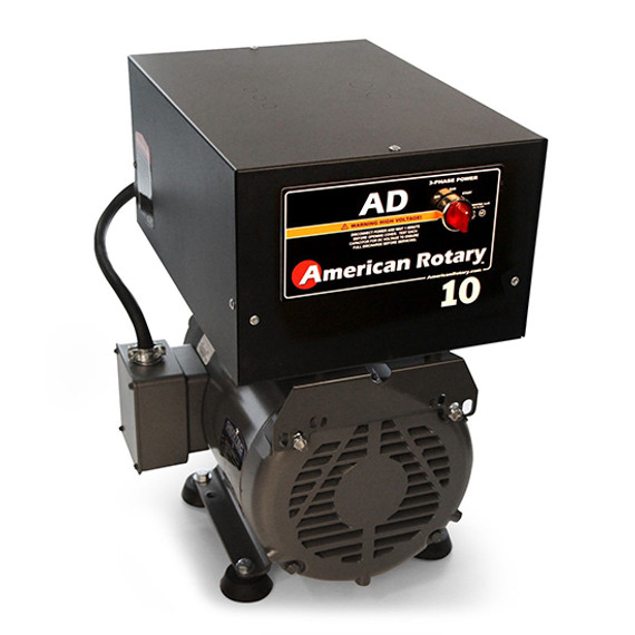 American Rotary AD10FM | 10HP 240V AD Series Floor Mount Rotary Phase Converter