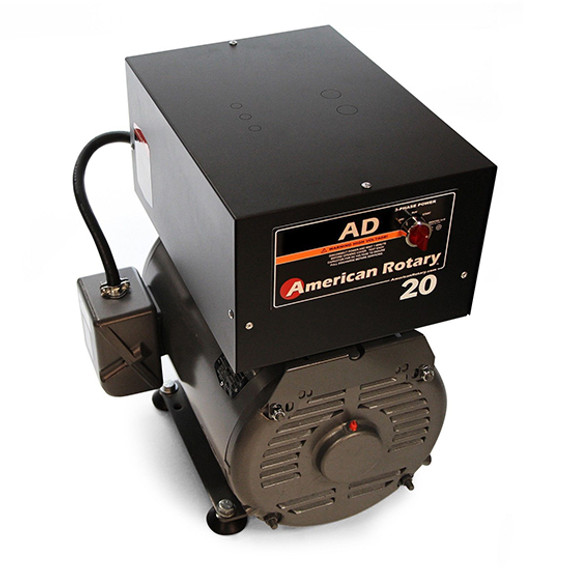 American Rotary AD20FM   20HP 240V AD Series Floor Mount Rotary Phase Converter