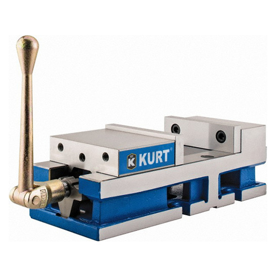 "Kurt 3600V | 6"" Jaw 6"" Opening Manual Machine Vise"