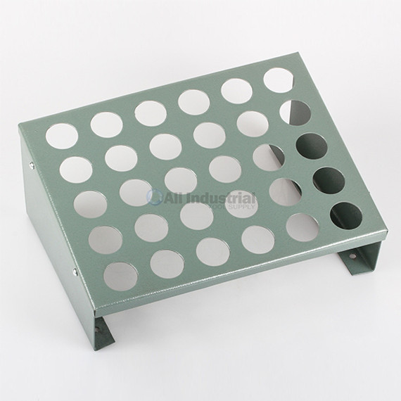 All Industrial 41280 | 5C Collet Storage Rack Holds 30 5C Collets Wall/Machine Mount