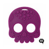 Sugar Skull Teething Toy - Purple
