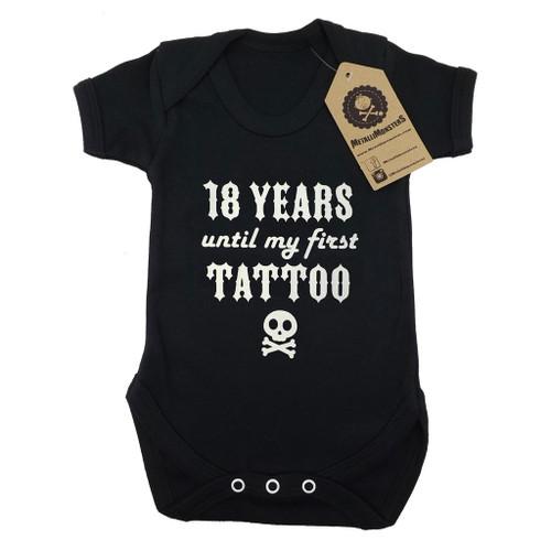 First Tattoo Vest Black