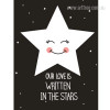Our Love is Written in the Stars Canvas Print